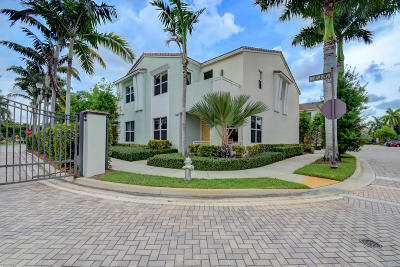 Boca Raton Townhouse For Sale: 1449 NW 48th Drive