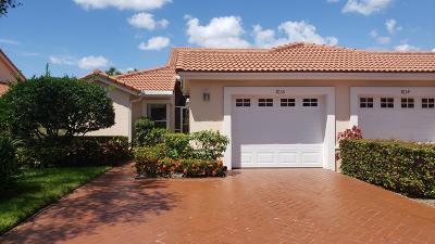 Boynton Beach Single Family Home Contingent: 7630 Seafoam Court