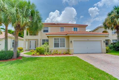 Lake Worth Single Family Home Contingent: 6362 C Durham Drive