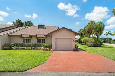 Lake Worth Single Family Home For Sale: 4722 Fountains Drive S