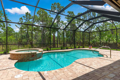 Palm City Single Family Home For Sale: 4596 SW Gossamer Circle