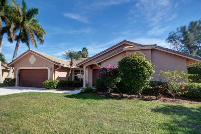 Boca Raton Single Family Home For Sale: 10278 Canoe Brook Circle