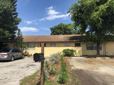 Pompano Beach Single Family Home For Sale: 4328 NW 4th Avenue