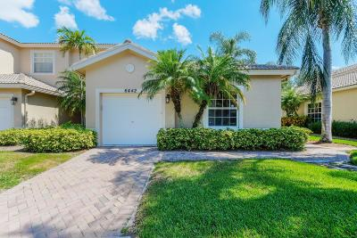 Boynton Beach Single Family Home For Sale: 6442 Park Lake Circle