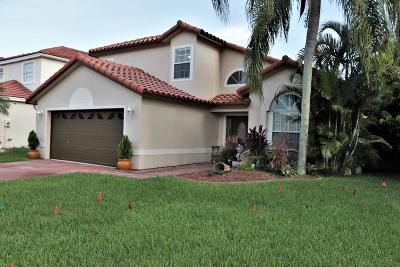 Boca Raton Single Family Home For Sale: 10659 Plainview Circle