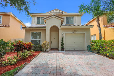 West Palm Beach Single Family Home For Sale: 4497 Lake Lucerne Circle