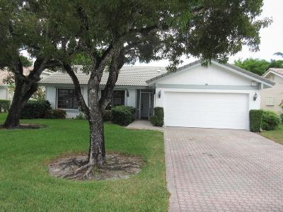 Boca Raton Single Family Home For Sale: 7752 Cloverfield Circle