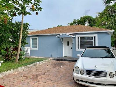 West Palm Beach Single Family Home For Sale: 936 38th Street