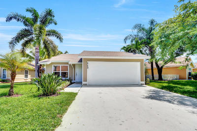 West Palm Beach Single Family Home For Sale: 4100 Clearview Terrace