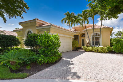 Delray Beach Single Family Home For Sale: 7817 Trieste Place