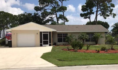 Port Saint Lucie Single Family Home For Sale: 941 SE Walters Terrace