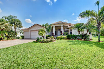Wellington Single Family Home For Sale: 11775 Osprey Pointe Circle