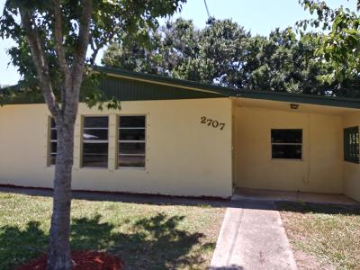 Fort Pierce Single Family Home For Sale: 2707 S 27th Street