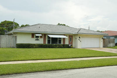 Boca Raton Single Family Home For Sale: 575 NW 13th Avenue