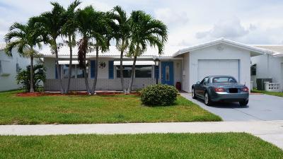 Leisureville, Palm Beach Leisureville Single Family Home Contingent: 1707 SW 16th Street