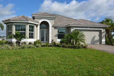 Vero Beach Single Family Home For Sale: 4700 Four Lakes Circle SW