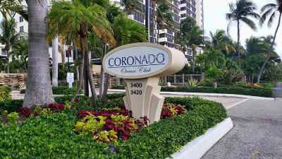 Highland Beach Condo For Sale: 3420 S Ocean Boulevard #4-Q