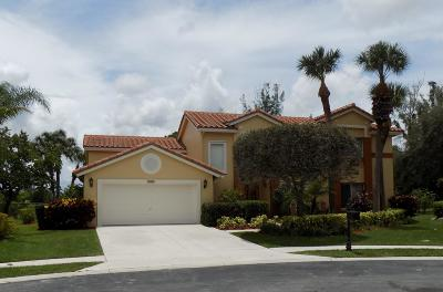 Lake Worth Single Family Home For Sale: 3684 Cypress Lake Drive