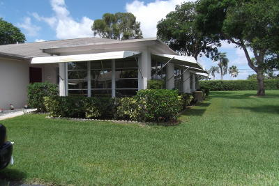 Delray Beach Single Family Home For Sale: 1392 High Point Way SW #D