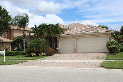 Lake Worth Single Family Home For Sale: 9933 Via Bernini
