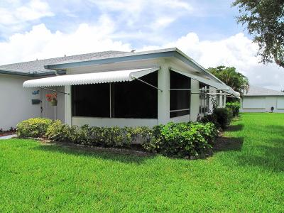 Delray Beach Single Family Home Contingent: 1070 North Drive #D