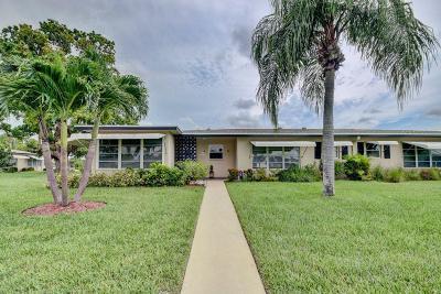 Delray Beach Single Family Home For Sale: 1045 E Circle Terrace #A