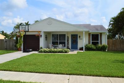 Royal Palm Beach Single Family Home Contingent: 10559 Aquarius Lane