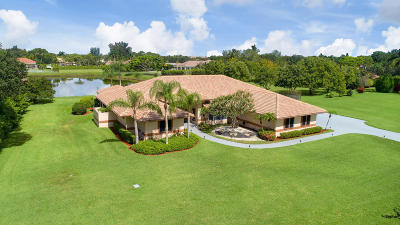 Palm Beach Gardens Single Family Home For Sale: 8667 Steeplechase Drive