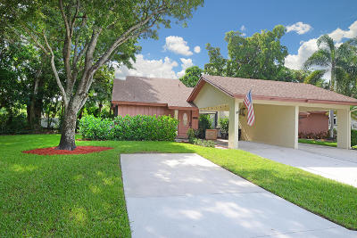 Coconut Creek Single Family Home Contingent: 1858 Tamarind Lane