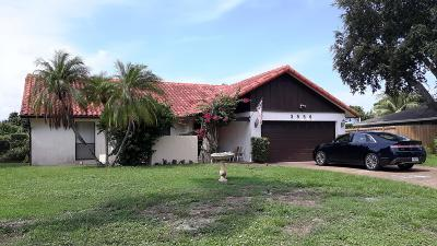 Delray Beach Single Family Home For Sale: 3856 NW 8th Street