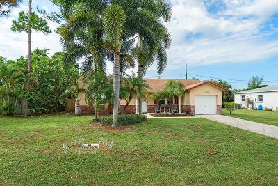 Boynton Beach Single Family Home For Sale: 3622 Lothair Avenue