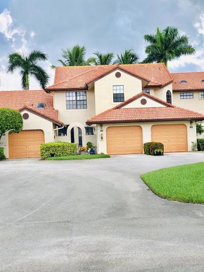 Boynton Beach Single Family Home For Sale: 5965 Parkwalk Drive