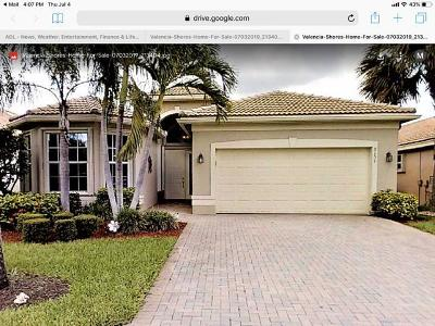 Lake Worth Single Family Home For Sale: 8151 Abalone Point Boulevard