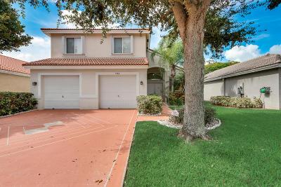 Lake Worth, Lakeworth Single Family Home For Sale: 5165 Prairie Dunes Village Circle
