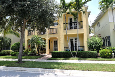 Jupiter Single Family Home For Sale: 219 W Bay Cedar Circle