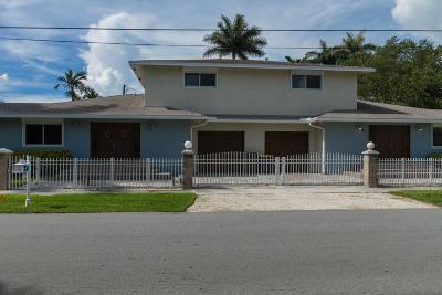 Broward County Single Family Home For Sale: 121 141 NE 3rd Street #1 - 2