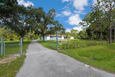 Jupiter Single Family Home For Sale: 17813 Bridle Court