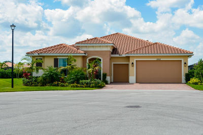 Port Saint Lucie Single Family Home For Sale: 12052 SW Ligustrum Drive