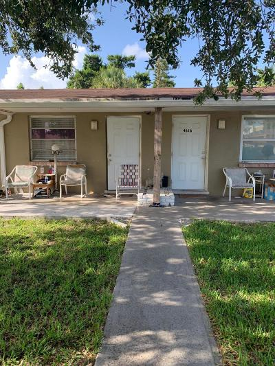 West Palm Beach Multi Family Home For Sale: 4616 Myla Lane