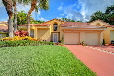Boca Raton Single Family Home For Sale: 11129 Sangria Court