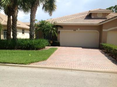St Lucie County Single Family Home For Sale: 10121 Wild Quail Drive