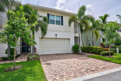 Palm Beach Gardens Townhouse For Sale: 1052 Piccadilly Street