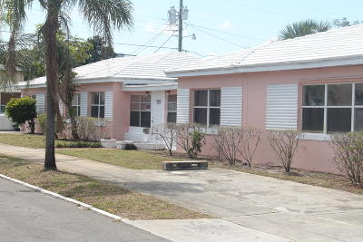 West Palm Beach Single Family Home For Sale: 715 Douglass Avenue