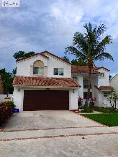 Boca Raton Single Family Home For Sale: 10037 Country Brook Road