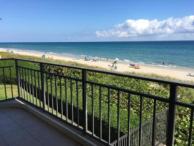 Highland Beach Condo For Sale: 3009 S Ocean Boulevard #202