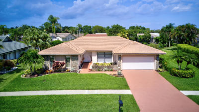 Boca Raton Single Family Home For Sale: 19820 Back Nine Drive