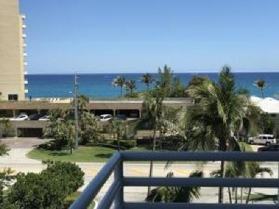 Highland Beach Rental For Rent: 3450 S Ocean Boulevard #505