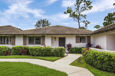 Palm Beach Gardens Townhouse Contingent: 515 Club Drive