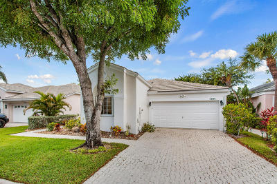 Boca Raton Single Family Home Contingent: 7880 Travelers Tree Drive Drive