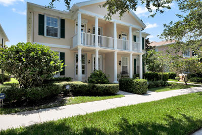 Jupiter Townhouse For Sale: 120 Milbridge Drive